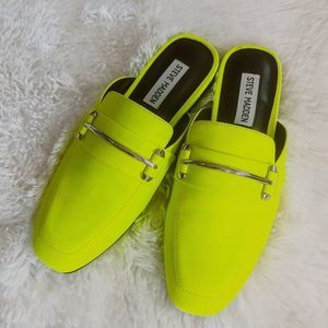 Steve Madden Neon Kite Loafer Mule Loafer Shoe NEW